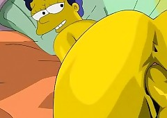 simpsons cartoon porn